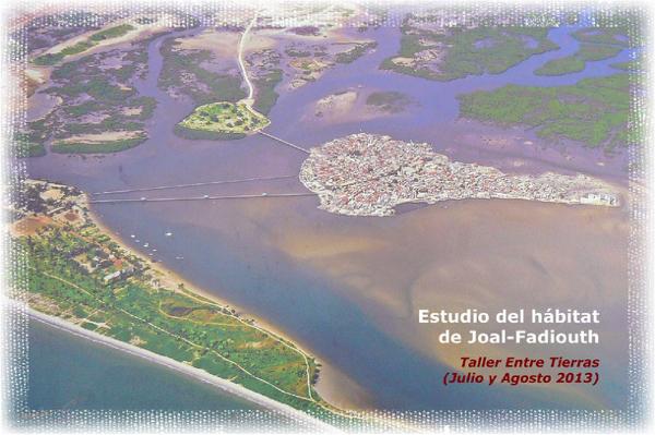 Estudio del hábitat en Joal-Fadiouth