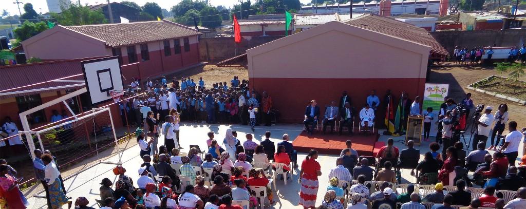 Inauguración de tres nuevos equipamientos en Maputo