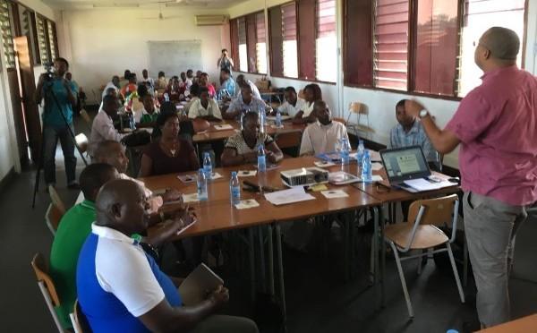 Jornadas de regulación mercados municipales de Inhambane