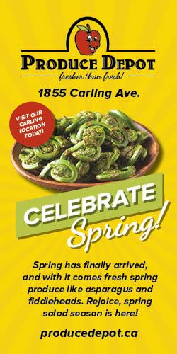 Celebrate Spring at Produce Depot