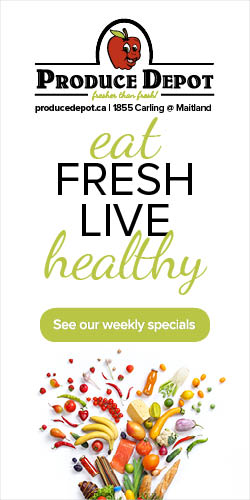 Eat fresh, live healthy... with Produce Depot