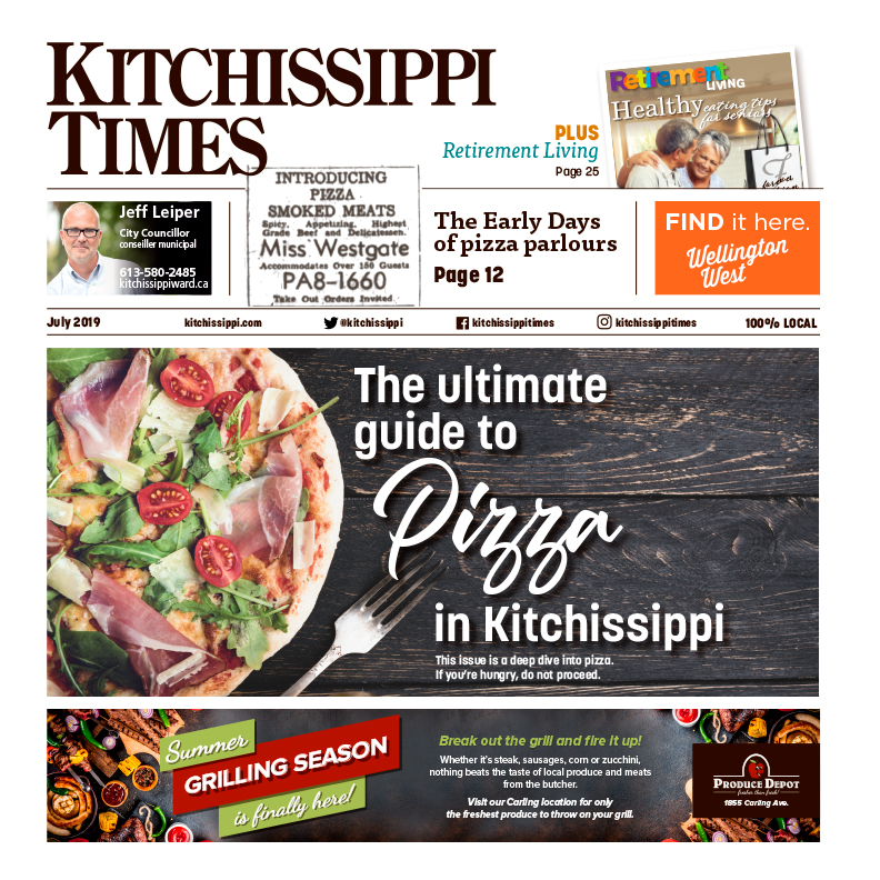 Read the ultimate guid to pizza in Kitchissippi