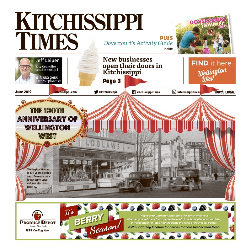 Read the JUNE issue of Kitchissippi Times