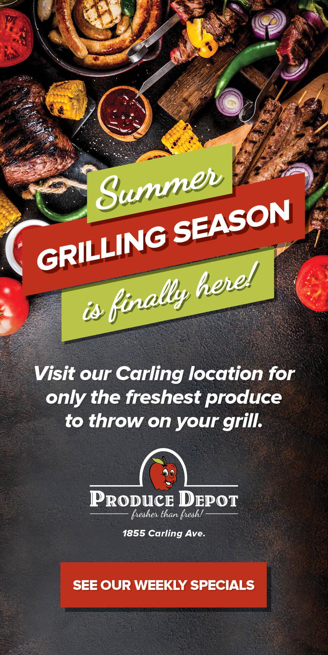 It's Grilling Season!