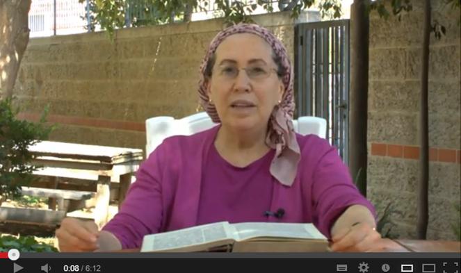 דבר תורה של הרבנית