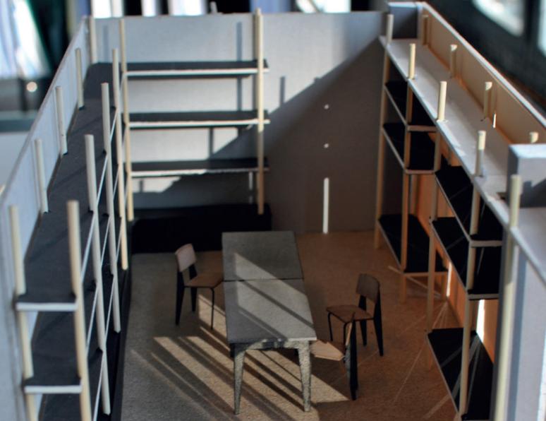 Model: Entwurf Bibliothek