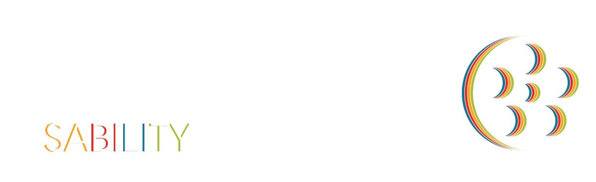 Superfest Disability Film Festival Logo, a colorful film reel