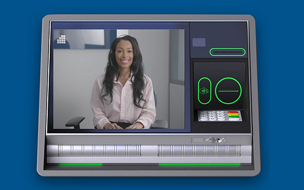 image of a NEFCU ITM teller on an ITM screen