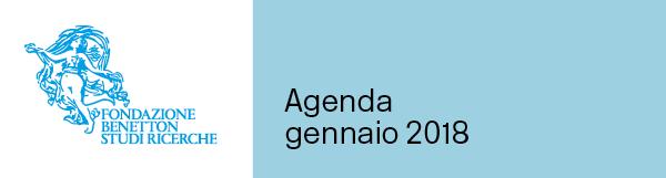 Agenda gennaio 2018