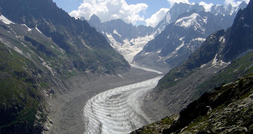 """Image de couverture de l'article """"les glaciers de montagnes"""""""