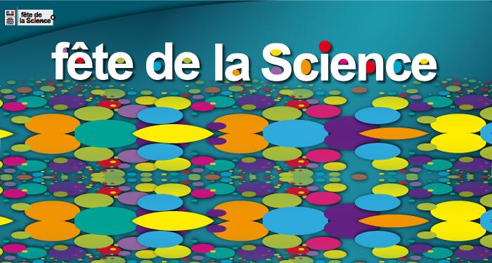 Affiche Fête de la Science à Grenoble, Octobre 2017