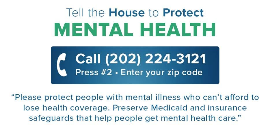 Tell Congress to Protect Mental Health
