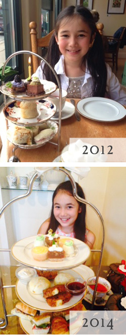 Kid-friendly teashops in Vancouver, BC - The Secret Garden Tea Company has a special Children's High Tea!