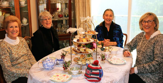 Afternoon and High Tea Catering by The Secret Garden Tea Company in Vancouver - Host your own tea party at home!