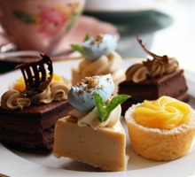 High Tea at The Secret Garden, Vancouver's premier spot for afternoon tea