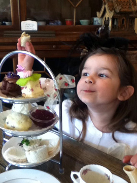 Family friendly High Tea for Mother's Day at The Secret Garden Tea Company in Vancouver