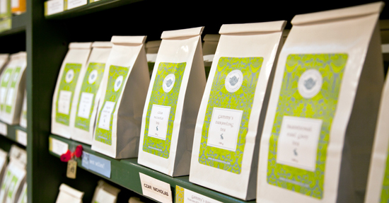 Buy bulk tea online at The Secret Garden Tea Company in Vancouver - quality loose leaf teas and teabags