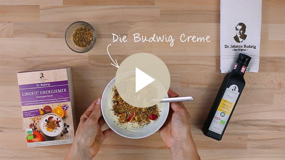 Die Budwig Creme: Für die optimale Omega-3-Versorgung