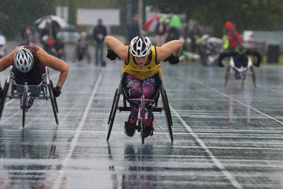 Carly Tait | Wheelchair Racer