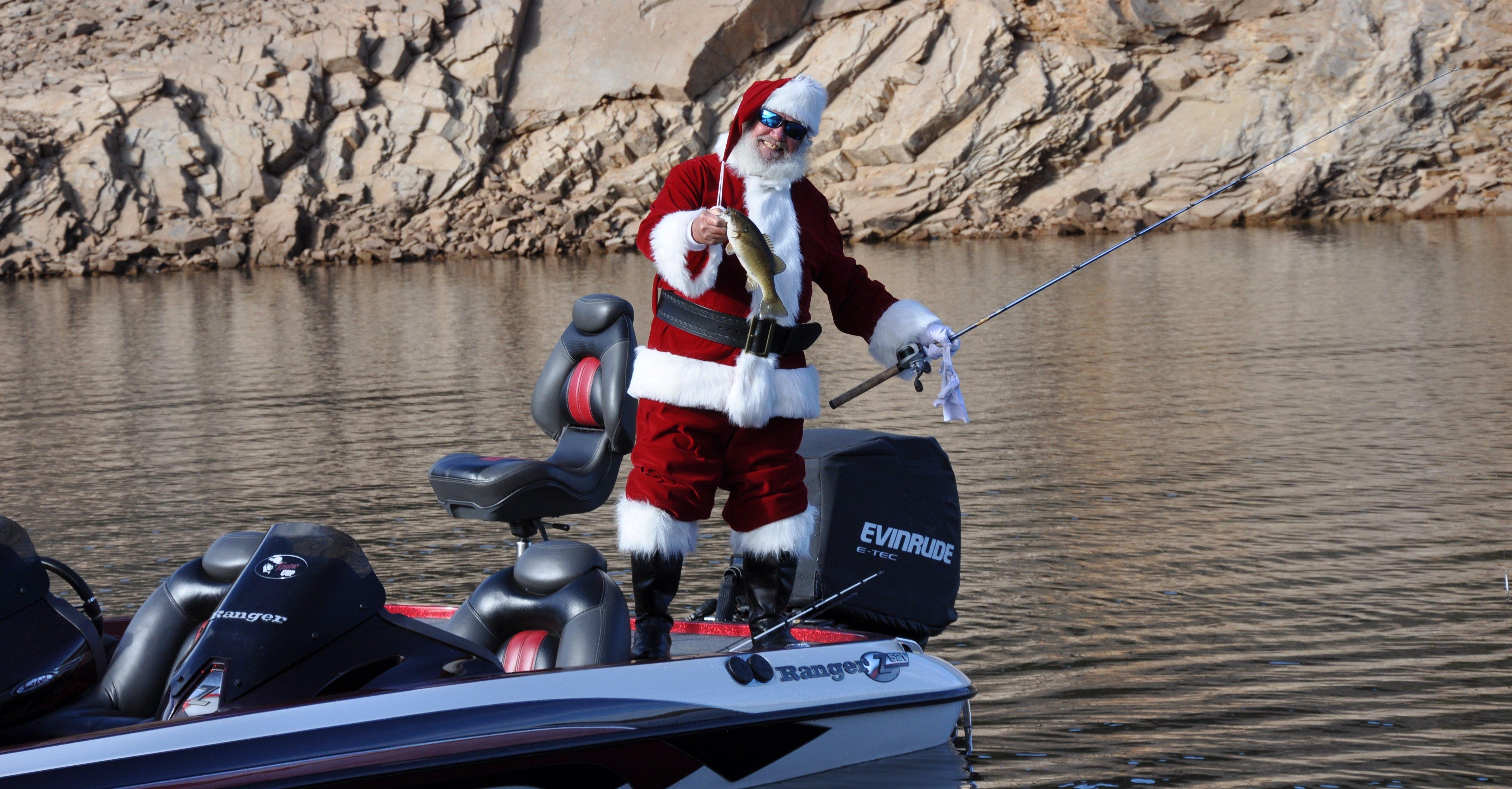 Santa Fishing