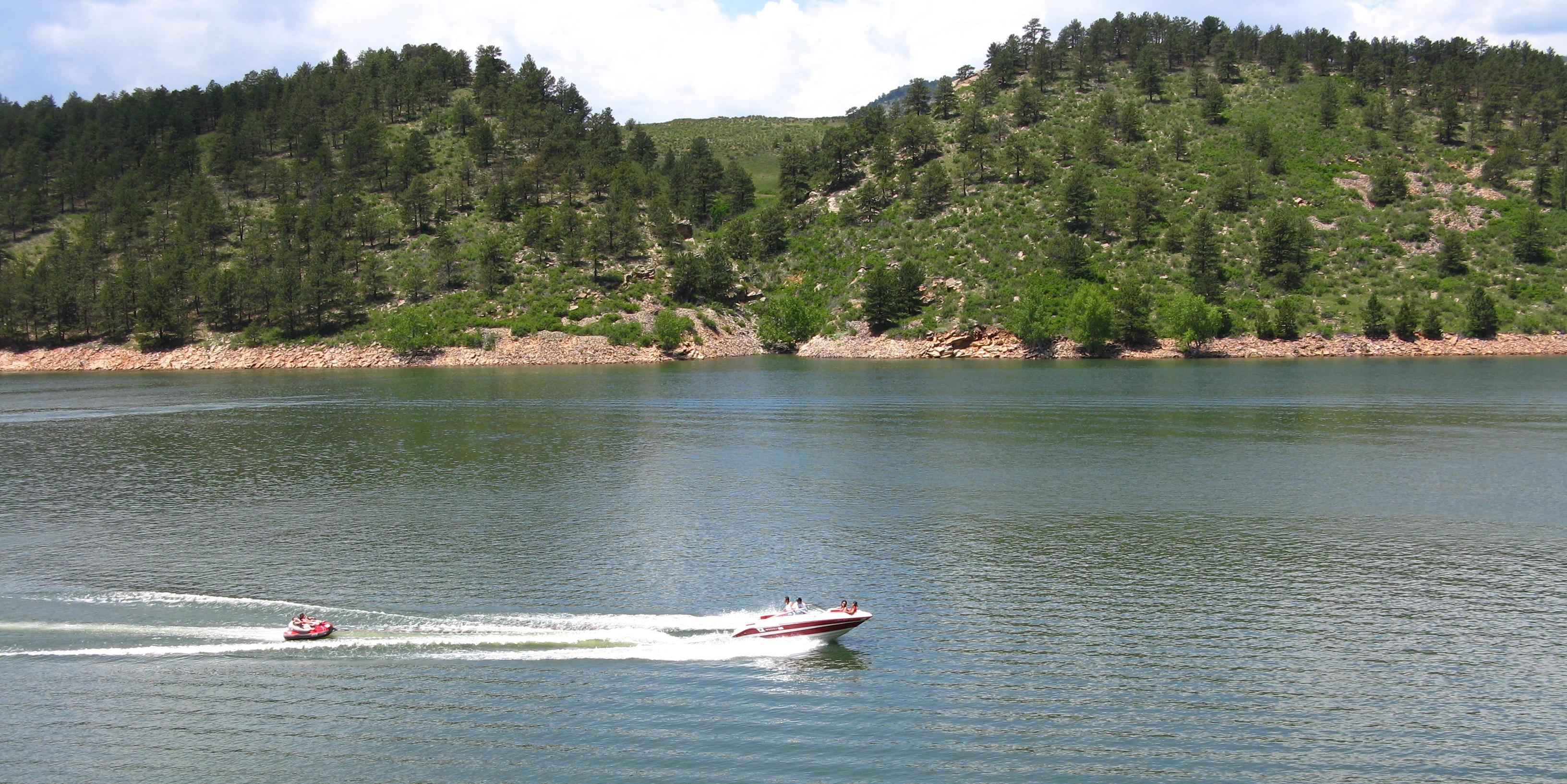 Horsetooth Boating