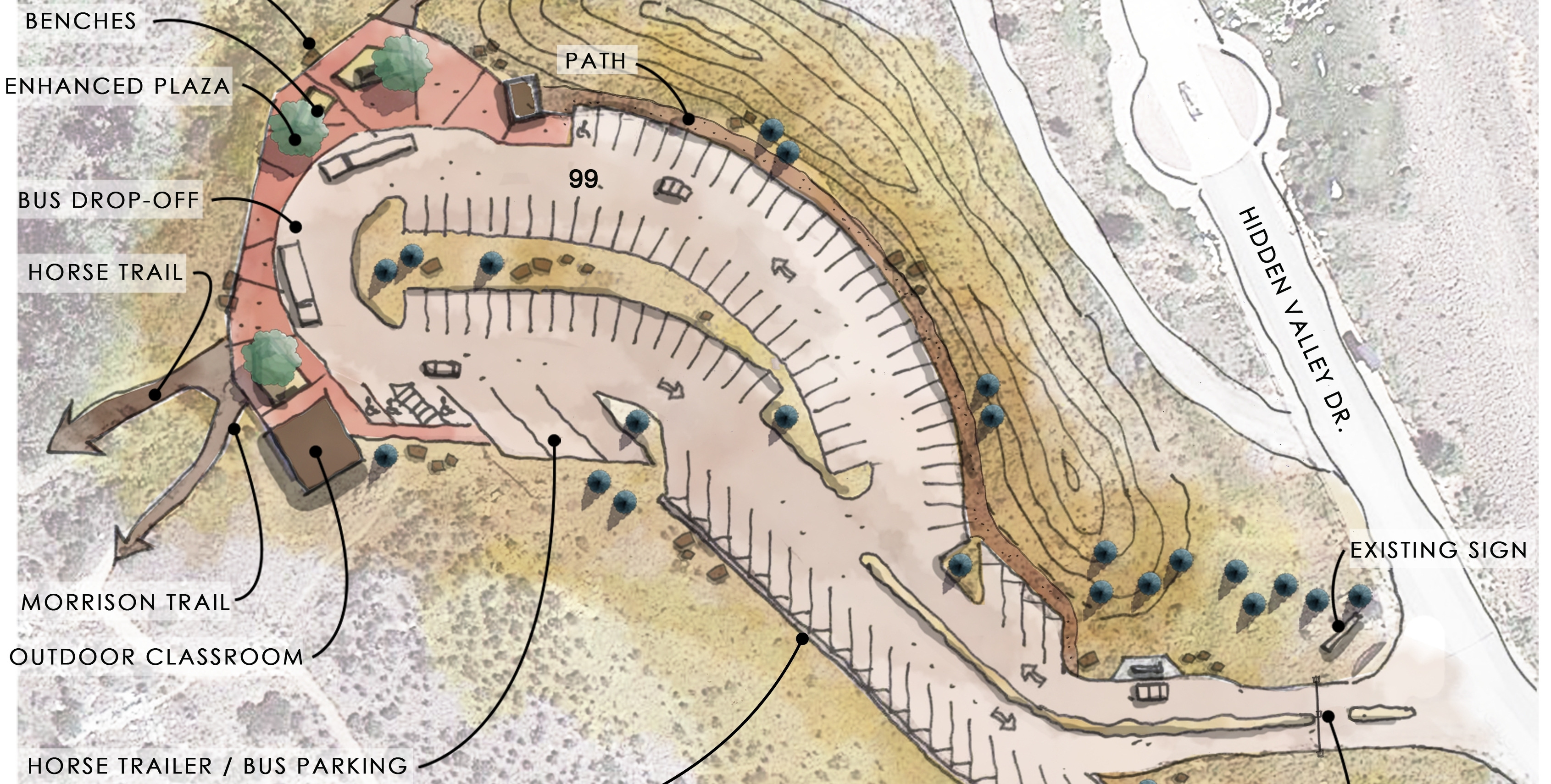 Devil's Backbone Site Plan