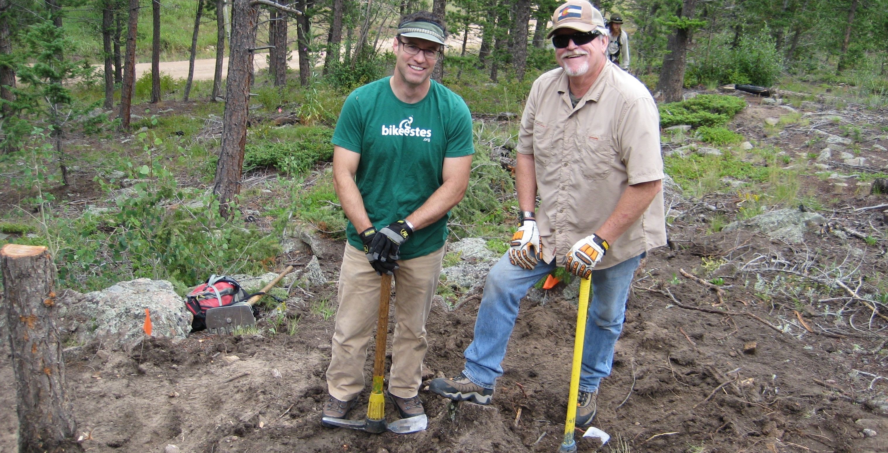 Trail Building at Hermit Park