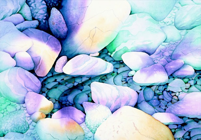 Watercolor Painting by Alison Dickson