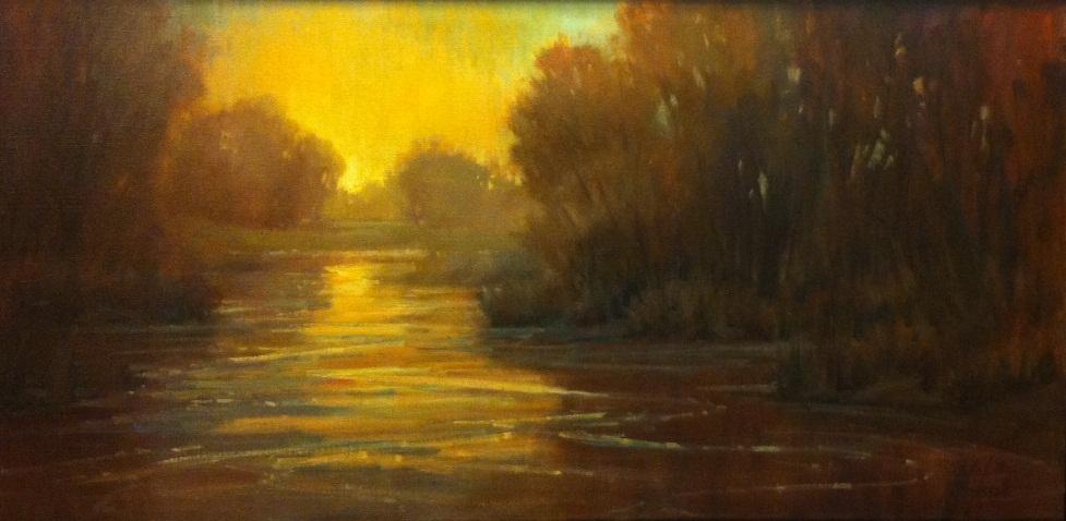 River Bluffs Sunrise by Jeanne Mackenzie