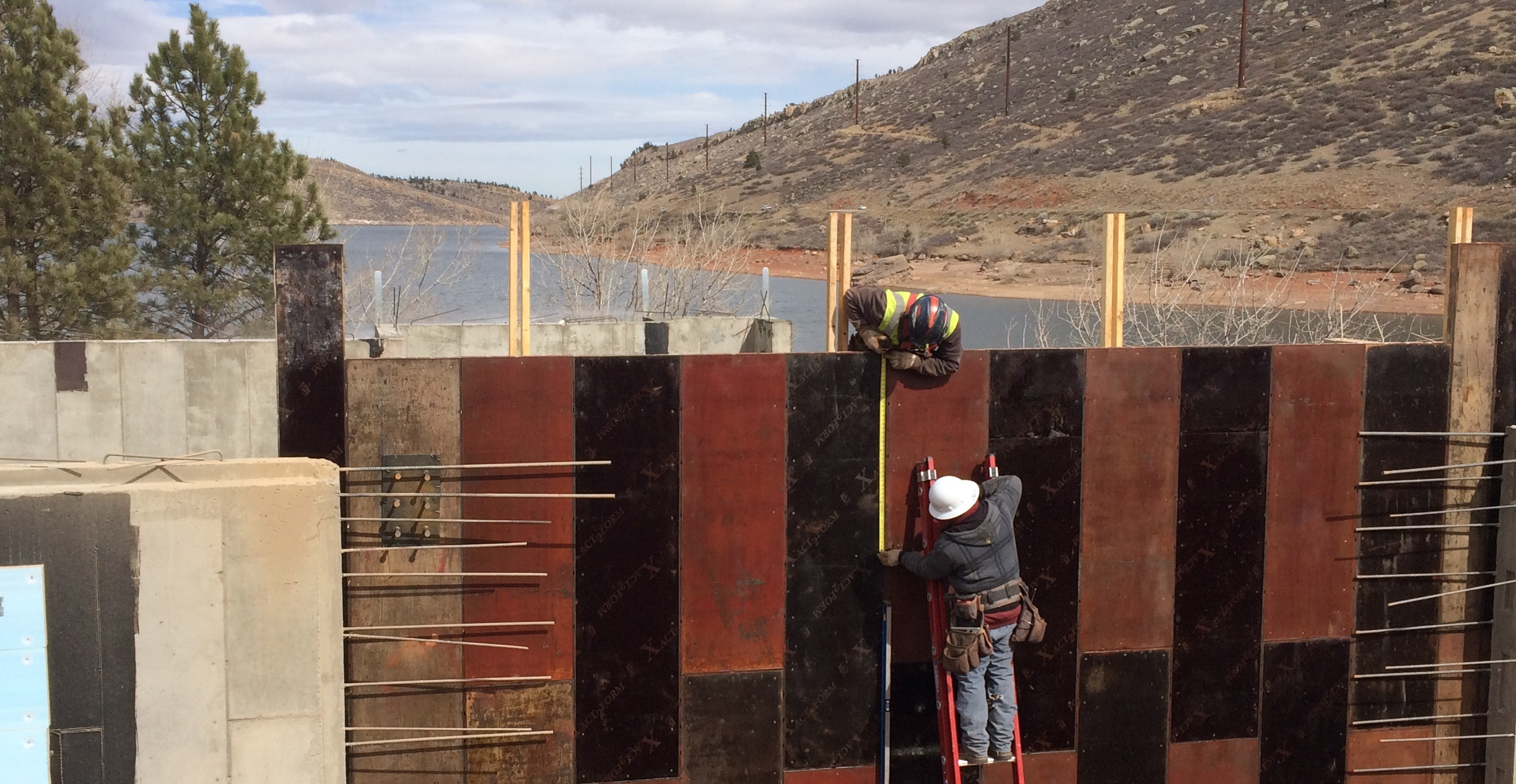 Horsetooth Area Information Center Construction