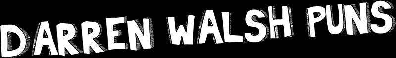 Darren Walsh Puns Logo