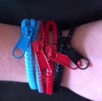 Zazzy Zipper Bracelets