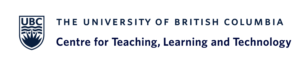 UBC Centre for Teaching, Learning and Technology