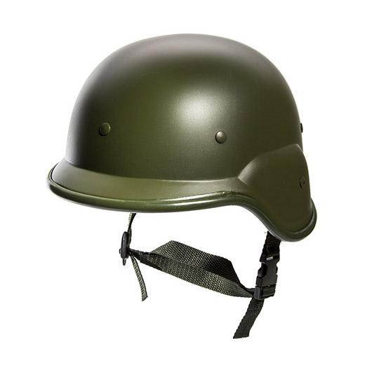 PLASTIC HELMET, M8 US ARMY, GREEN