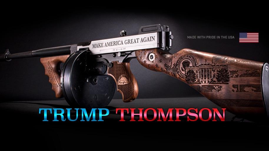 Thompson Auto-Ordnance Introduces the Special Edition Trump Thompson