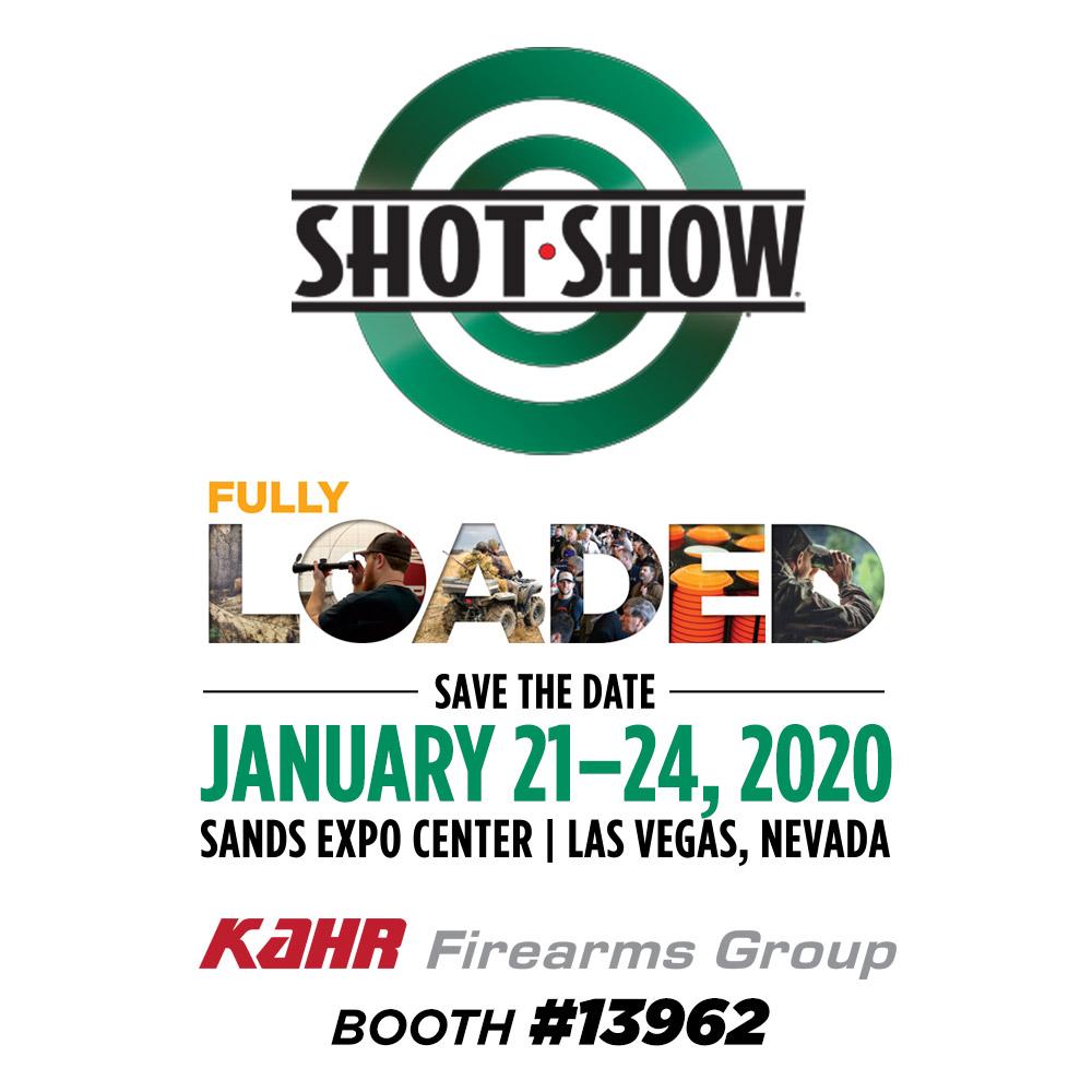 SHOT SHOW 2020 | Kahr Firearms Group Booth #13962