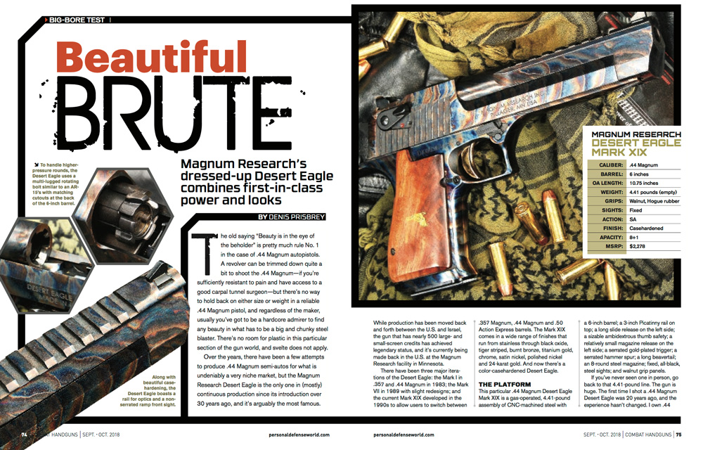 Combat Handguns | Beautiful BRUTE