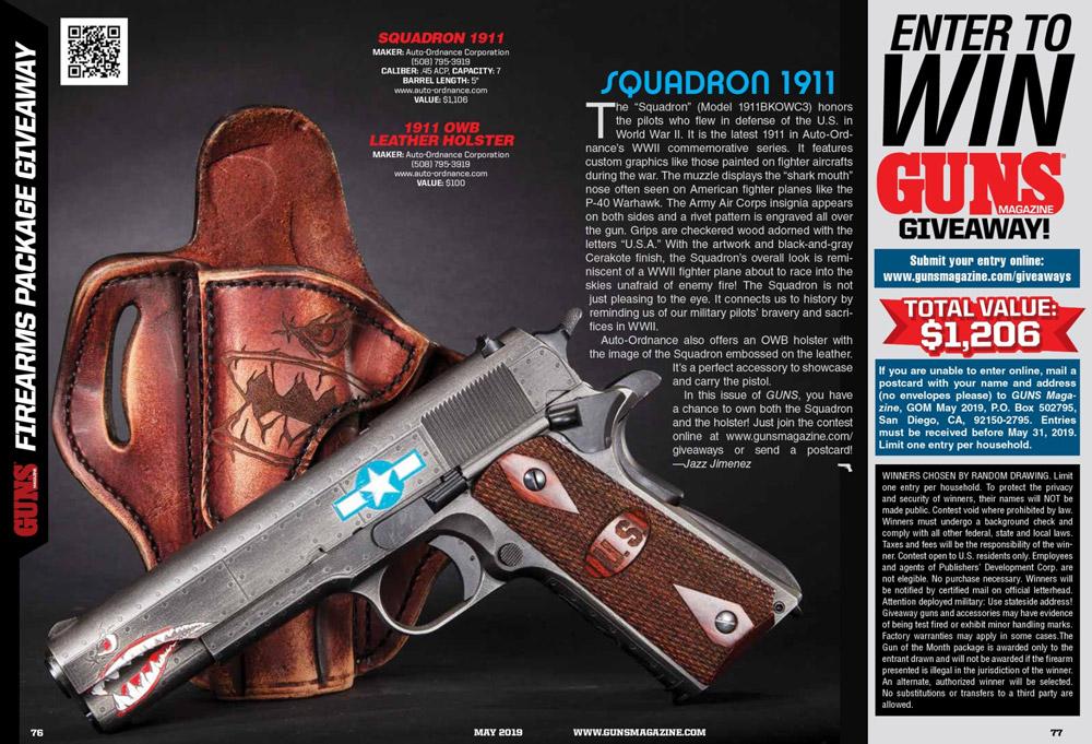 Enter to Win GUNS Magazine Giveaway!