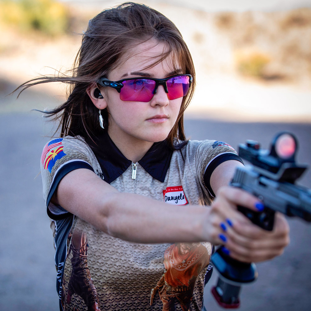Kahr Firearms Group Welcomes Pro-Shooter Danyela D'Angelo