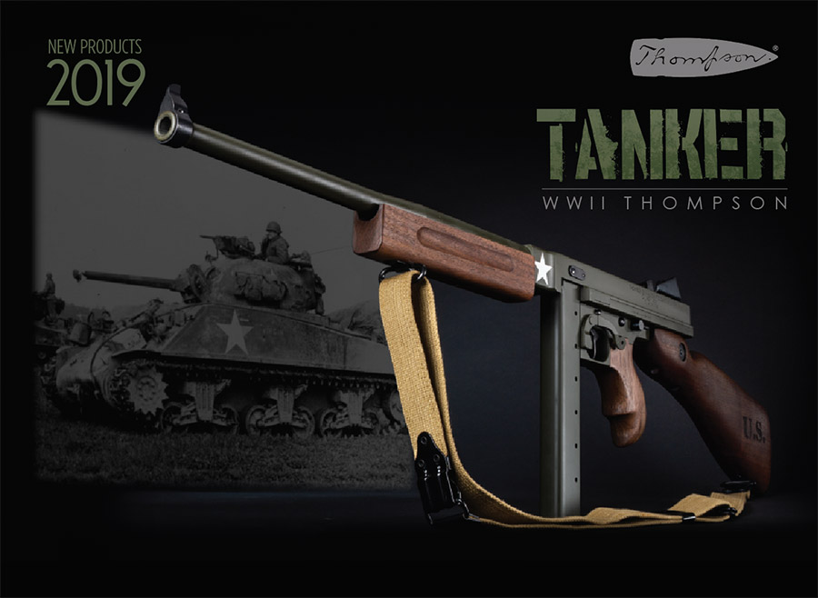 Thompson Auto-Ordnance Introduces Tanker WWII Thompson