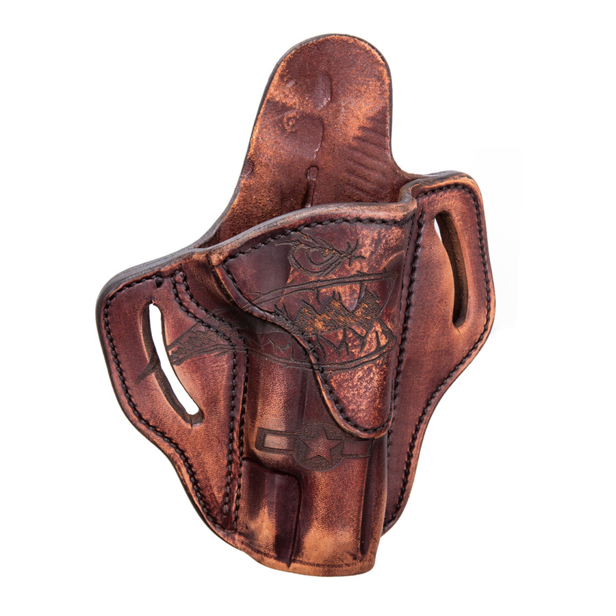 1911 OWB Leather Holster, Squadron, RH/LH