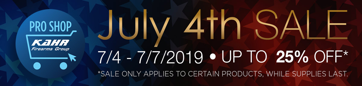 July 4th SALE • 7/4-7/7/2019 • Up to 25% OFF