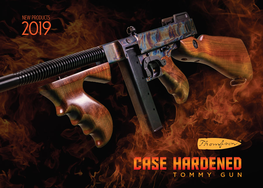 """Case Hardened"" Tommy Gun"