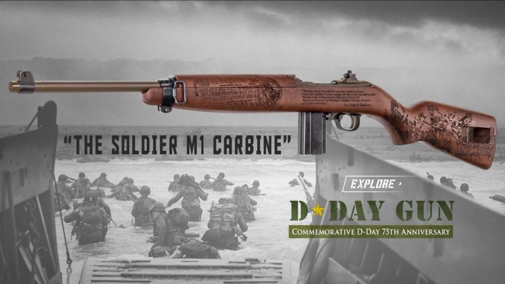 D-Day Gun: The Soldier M1 Carbine
