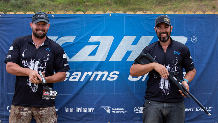 Kahr Firearms Group Shooters at the NRA World Shooting Championship 2018