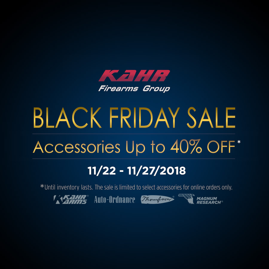 KFG Black Friday Sale 2018   11/22~11/27/2018