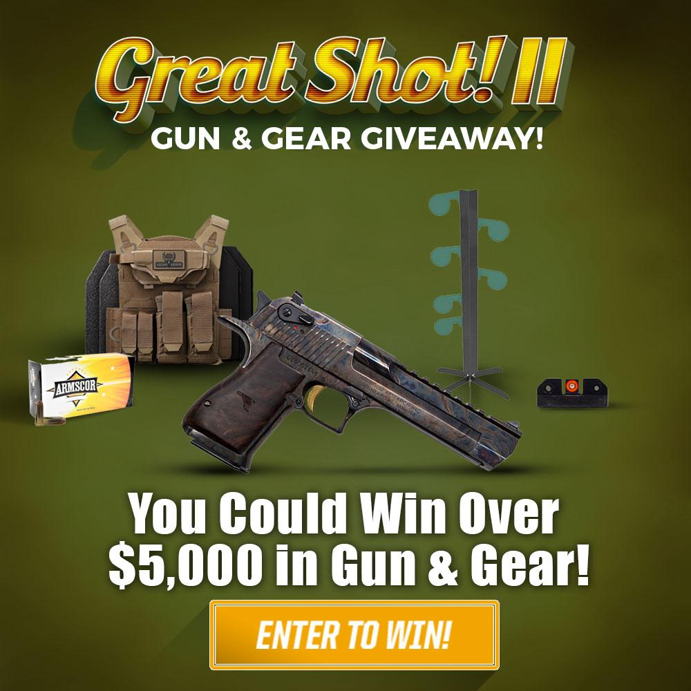 Great Shot! II • Gun & Gear Giveaway!
