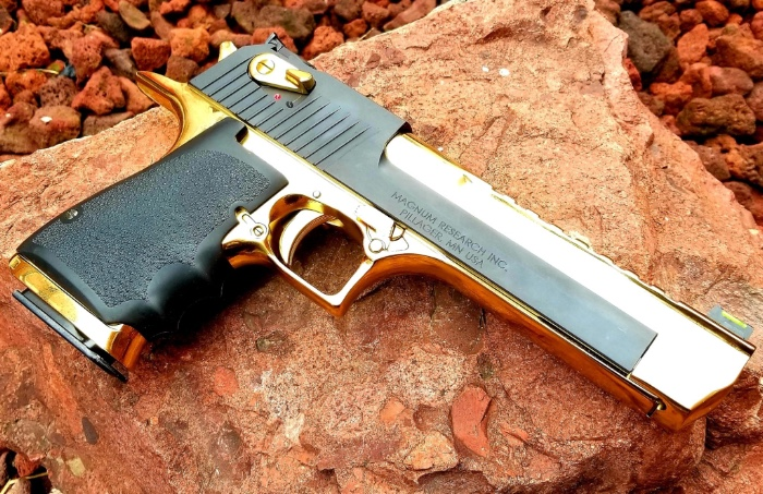 "Custom ""Pimped Out"" Desert Eagle"