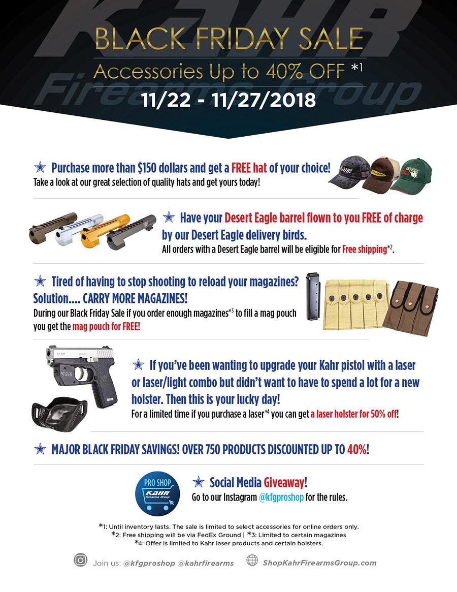 2018 KFG Black Friday Flyer