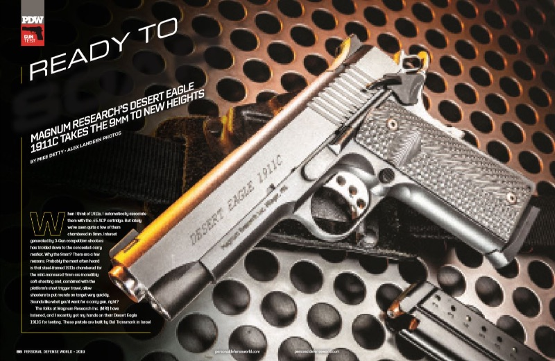 Magnum Research's Desert Eagle 1911C Takes The 9mm to New Heights